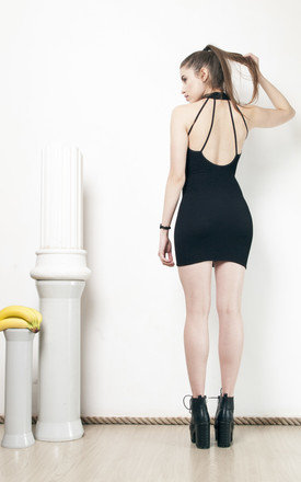 90s vintage cut out open back bodycon dress by Pop Sick Vintage