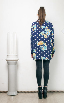 90s vintage crazy print oversized shirt by Pop Sick Vintage