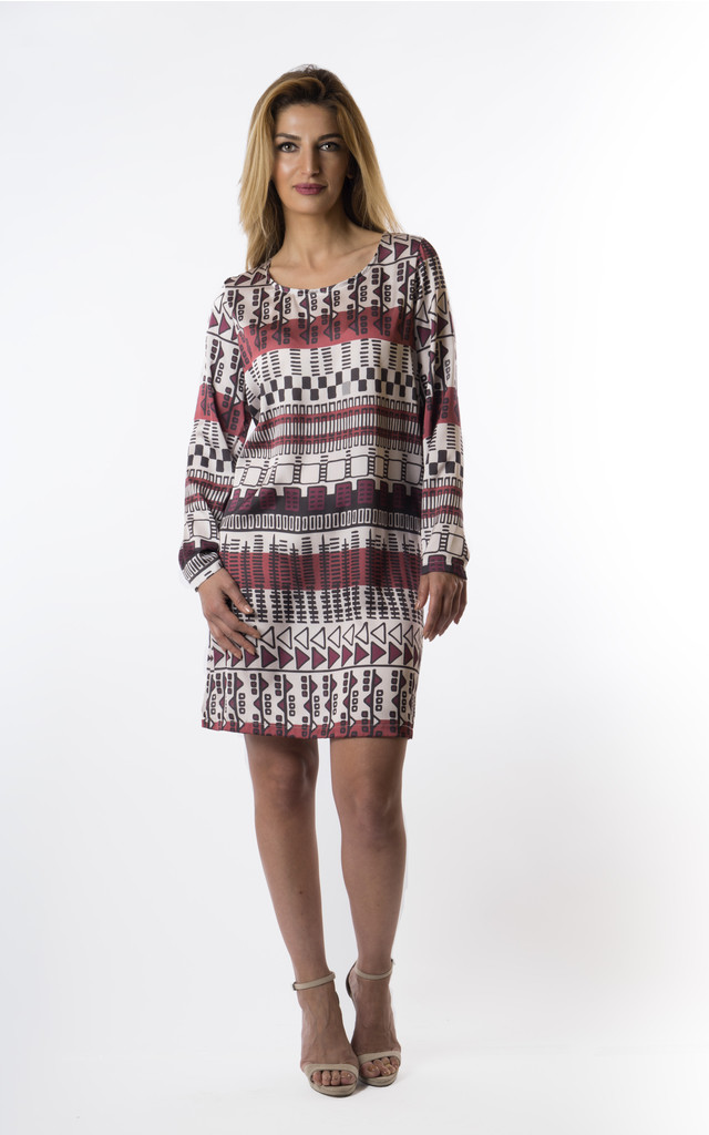 Alexis long sleeve tunic dress by VeryGirly