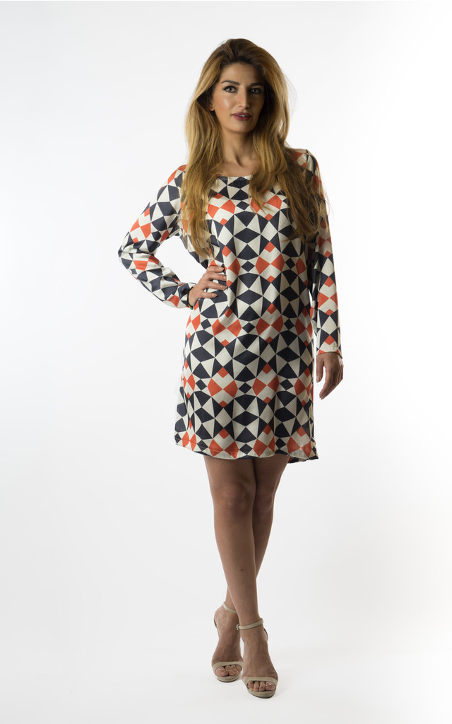 Amy long sleeve tunic dress. by VeryGirly
