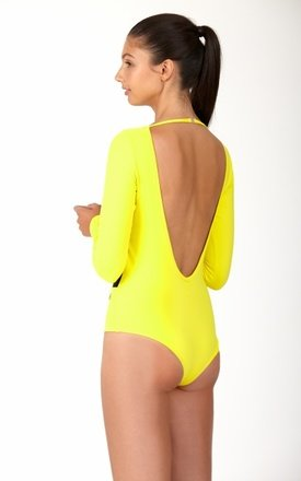 LONG SLEEVE MESH BODYSUIT by Mirelle Activewear