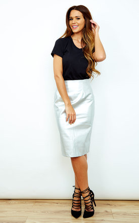 Metallic Pencil Skirt by ceekit Product photo