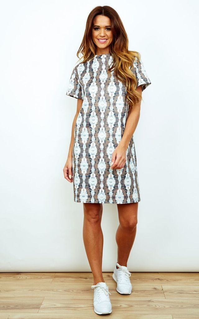 Statuette Tee Dress by RACHEL MCMILLAN