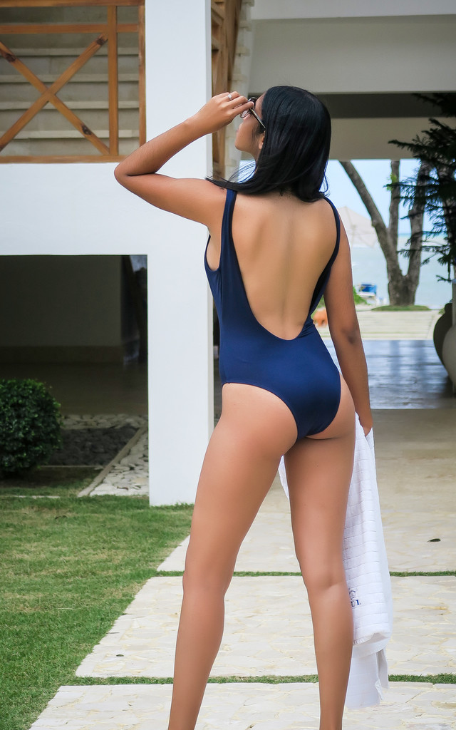 09ab08b180 ... Front Zipper One-Piece Swimsuit by DamaNegra