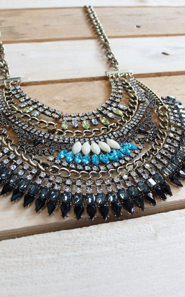 Retro necklace by THE CODE HANDBAGS