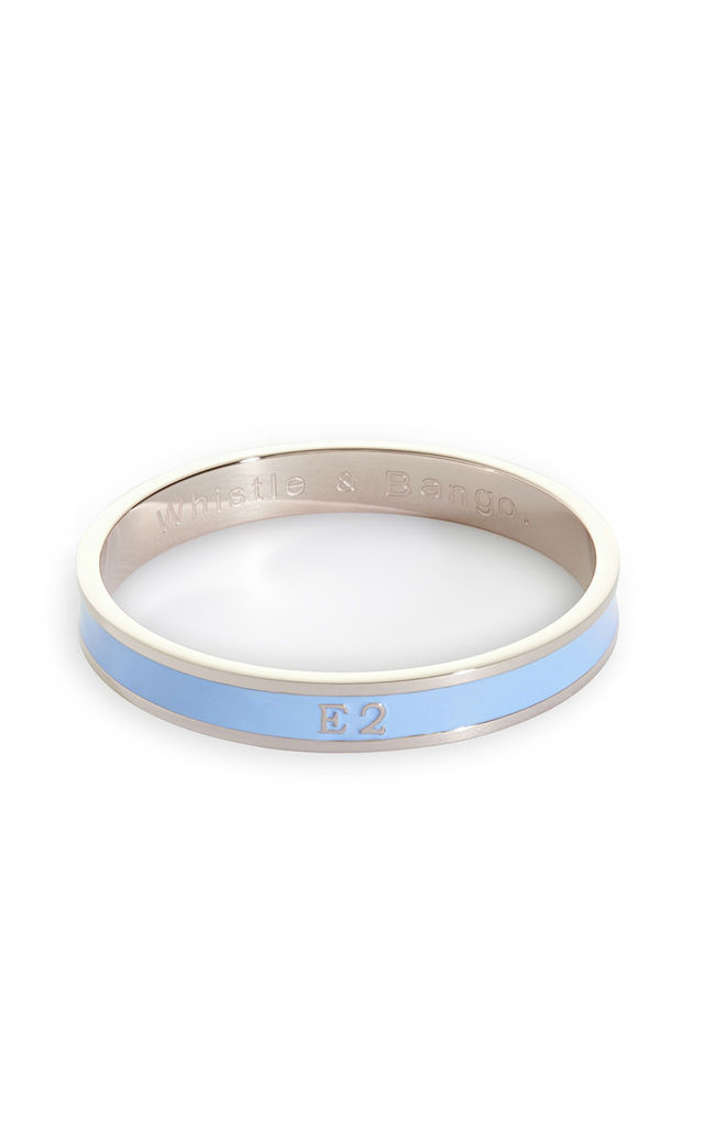 E2 Postcode bangle by Whistle & Bango