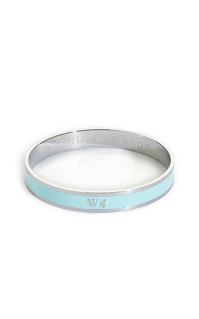 W4 Postcode bangle by Florence London