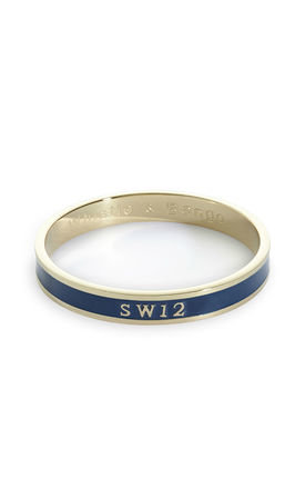 SW12 Postcode Bangle by Florence London