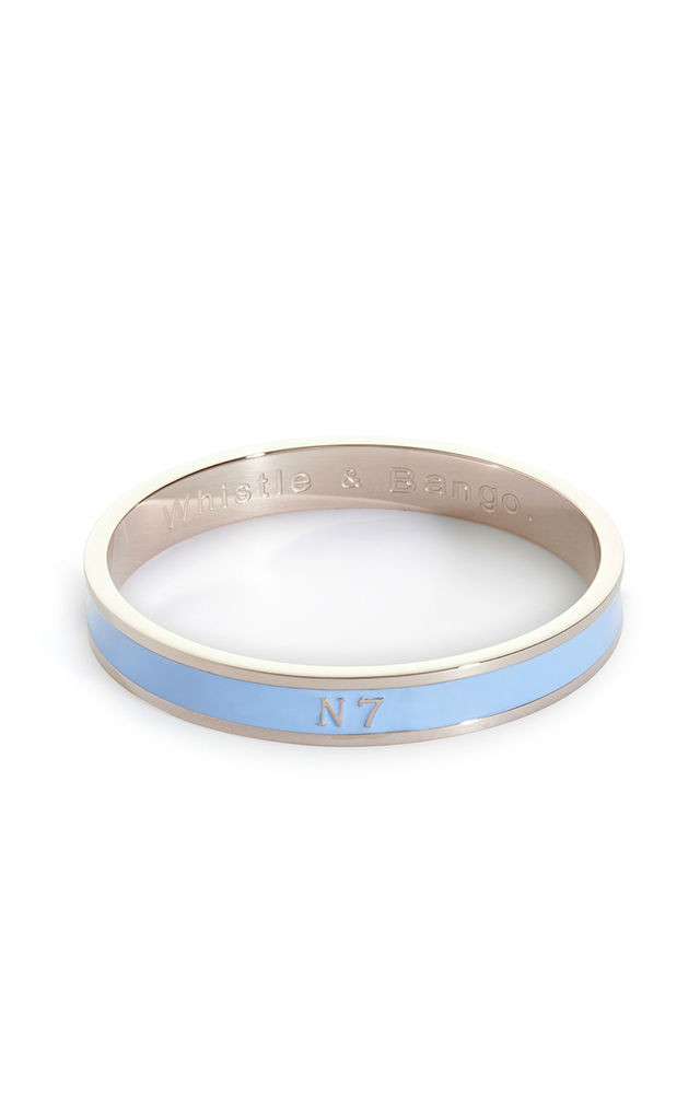 N7 Postcode Bangle by Florence London