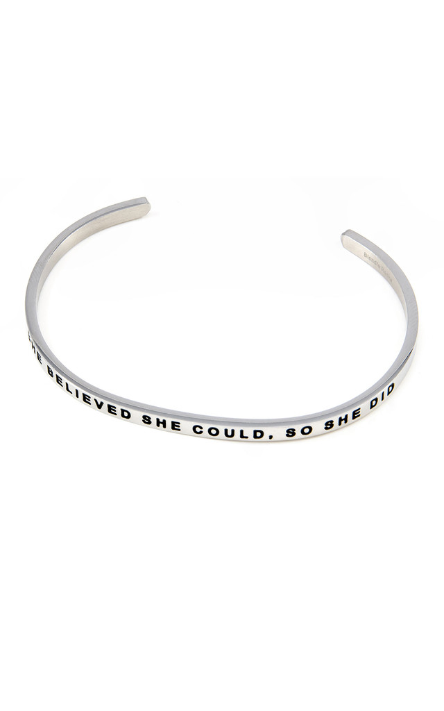 She Believed She Could So She Did Bangle by Blondie Rocks