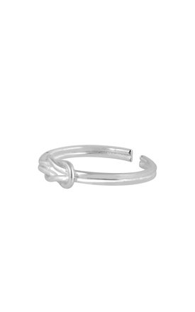 Eternity Symbol Sterling Silver Adjustable Ring by DOSE of ROSE