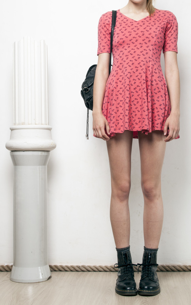 90s vintage grunge mini dress by Pop Sick Vintage