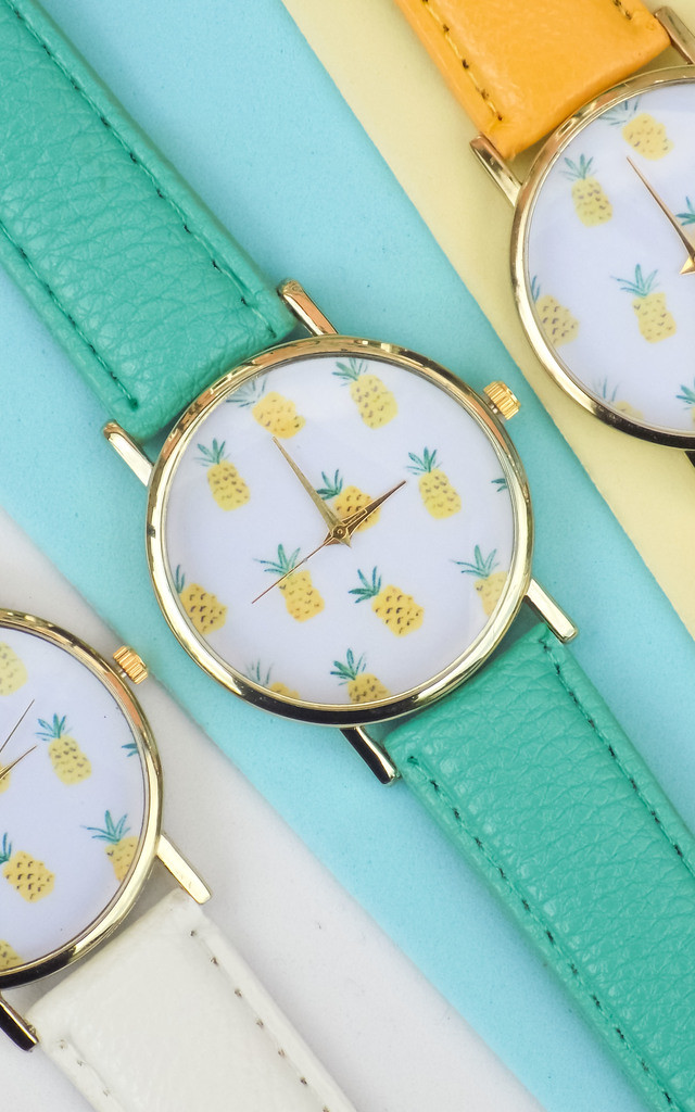 Mint Green Pineapple Summer Watch by Arcus Accessories