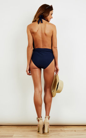 Bali Plunge Navy Swimsuit by BeachHeart