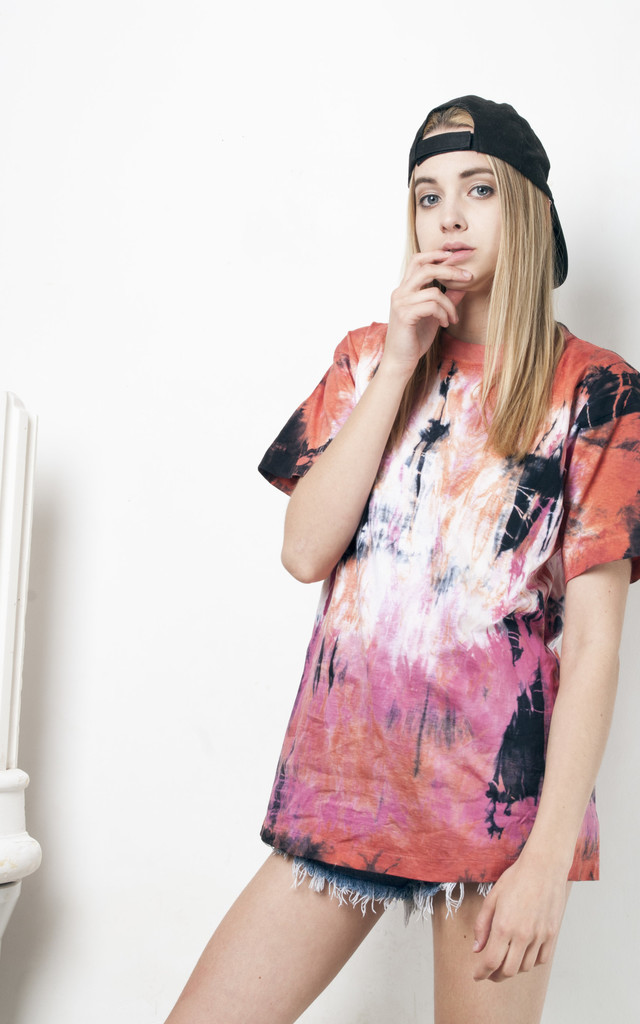 90s vintage reworked tie dye t-shirt by Pop Sick Vintage