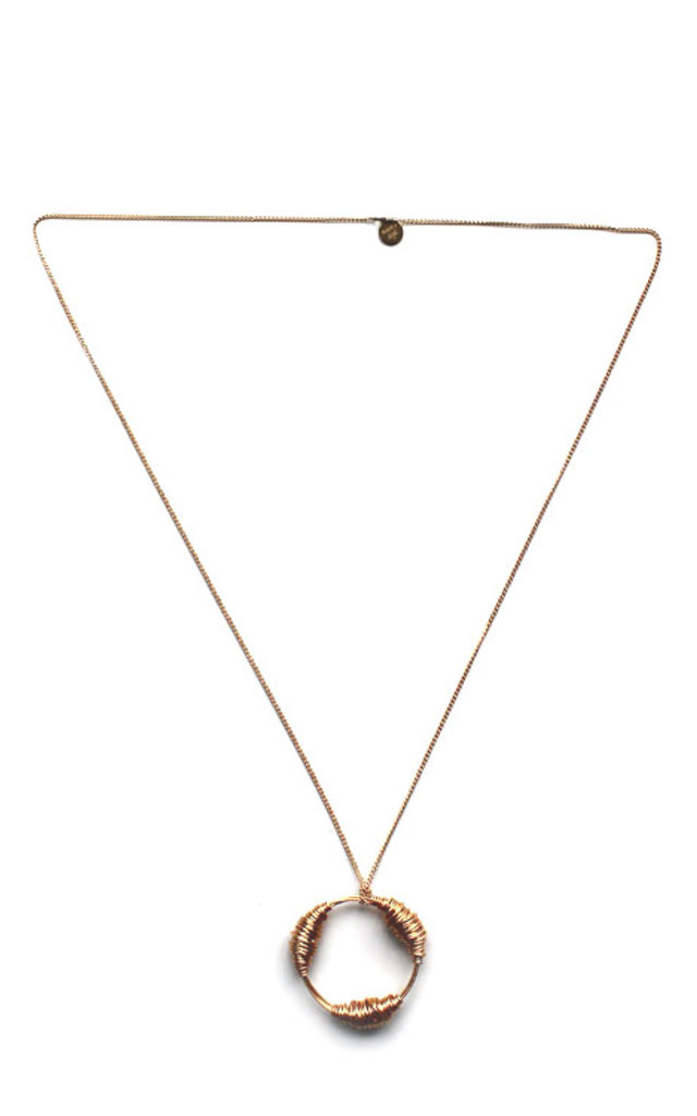 The Silver Juno Pendent Necklace by Black and Sigi