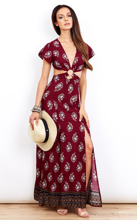 Ring Leader Maxi Dress by Kiss The Sky Product photo