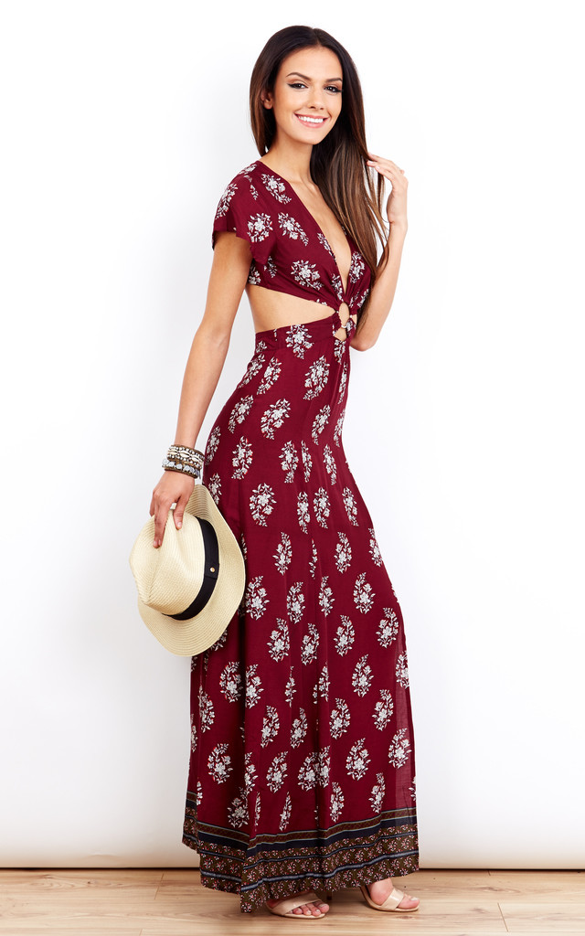 Ring Leader Maxi Dress by Kiss The Sky