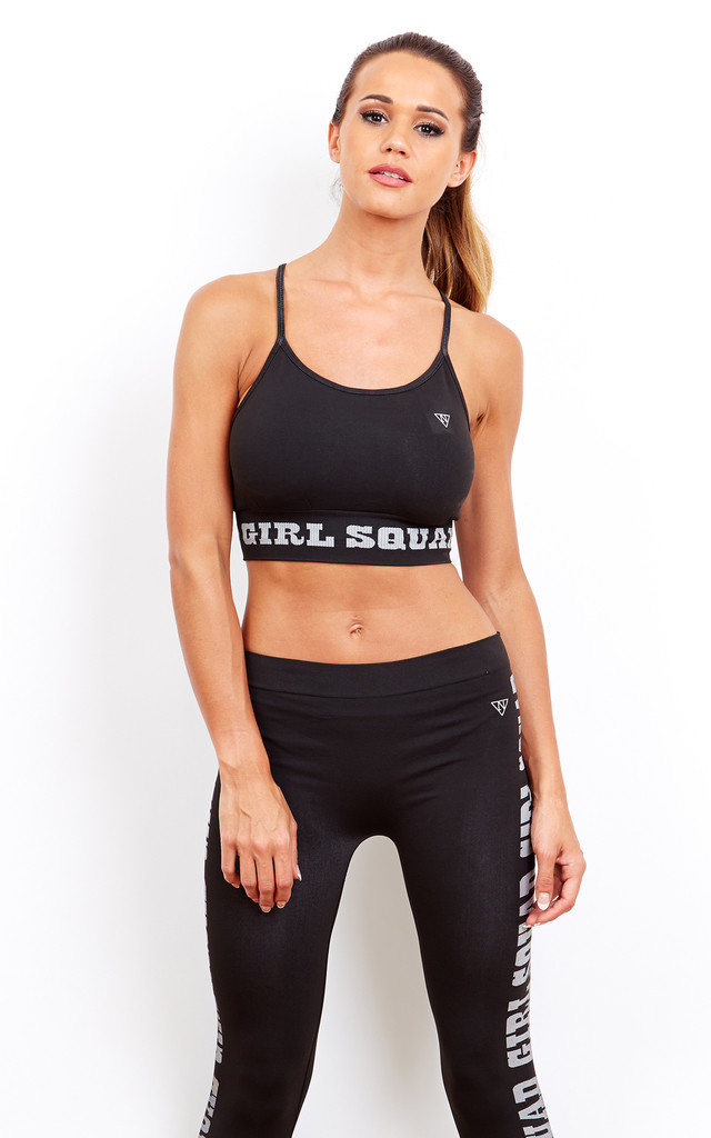 Girl Squad Sports Bra by Noisy May