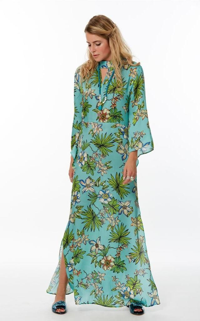 Floral Green Maxi Dress by Marek & Mason