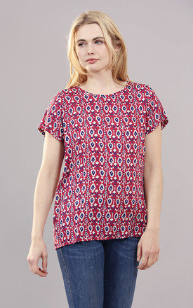 Seminyak Ruby Printed T-shirt by Verry Kerry