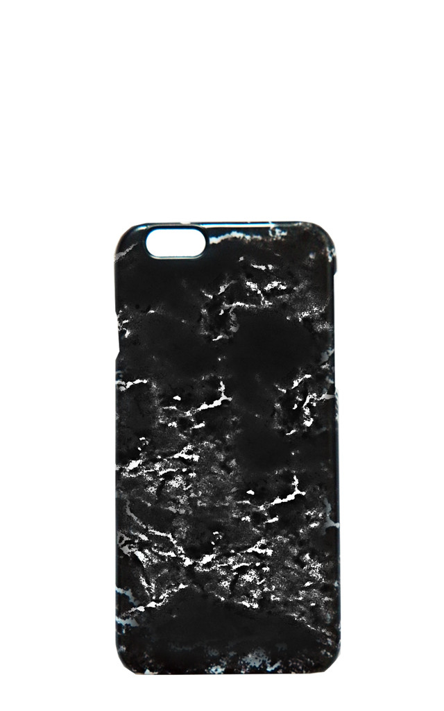 Black Marble phone case by Rianna Phillips