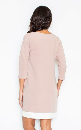 Pink loose fitting dress by FIGL