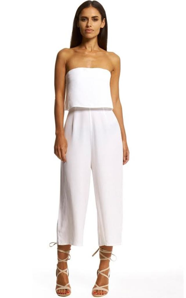 Relaxed Bandeau Jumpsuit by Neon Rose