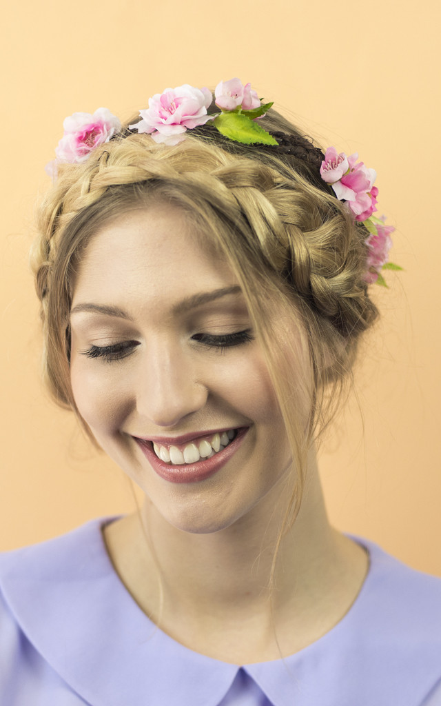 Cherry Blossom Crown - Blush Pink by Crown and Glory