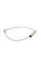 Heart Bar Bracelet In Gold by DOSE of ROSE