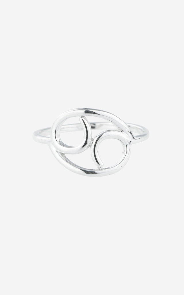 BELLATRIX Cancer Sterling Silver Zodiac Ring by Rock N Rose