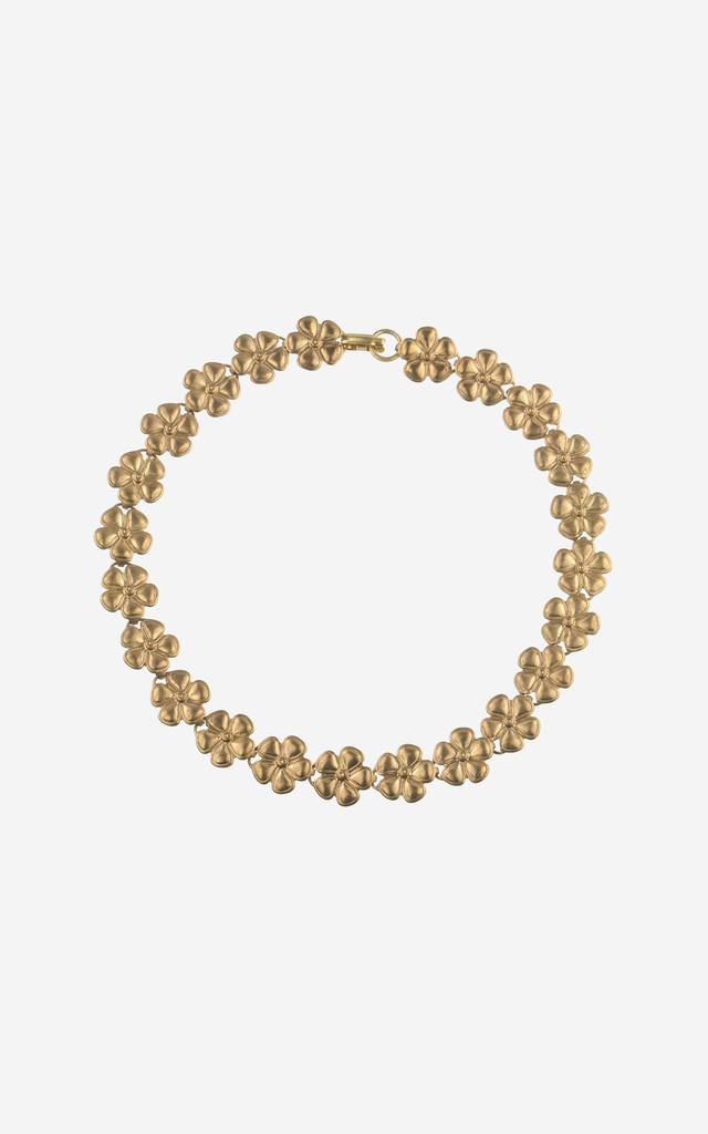 MARIBELLE Vintage Daisy Choker Necklace by Rock N Rose