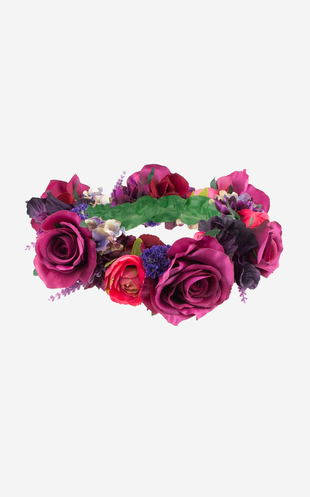 AUDRINA Exclusive Full Floral Crown by Rock N Rose
