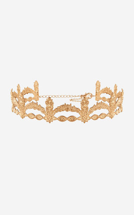LILLIANA Metal Crown Headband by Rock N Rose