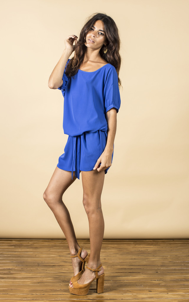 Ibiza Dress in Royal Blue  image