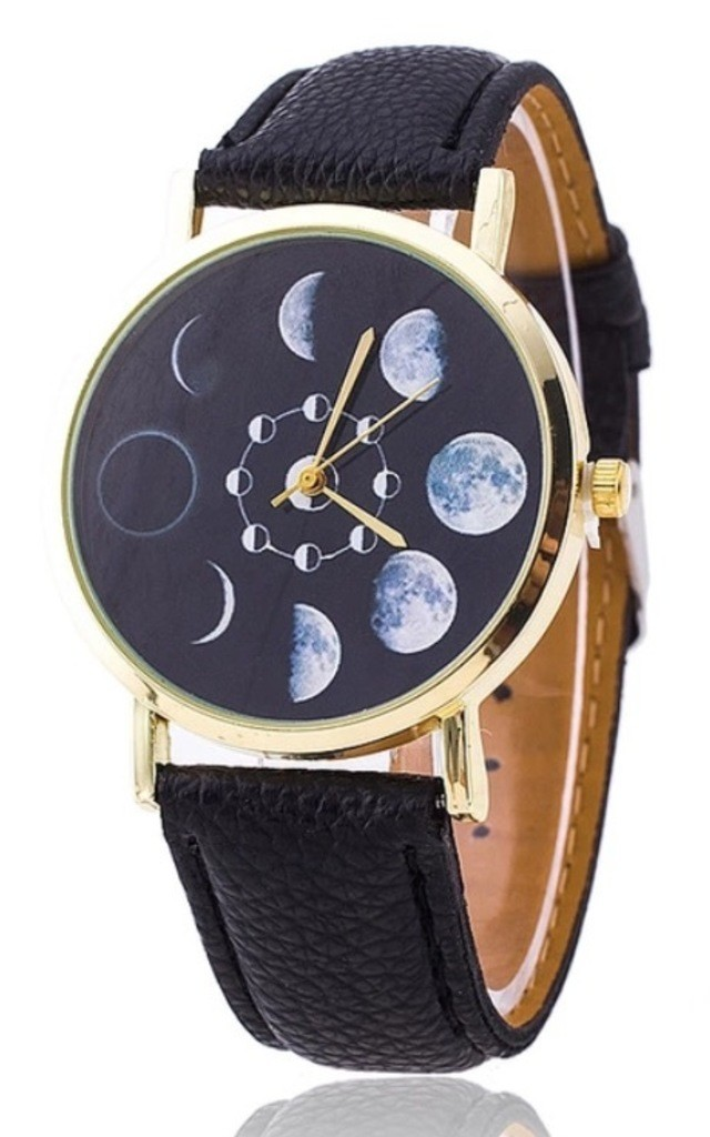 Moon phase watch by MoonChild