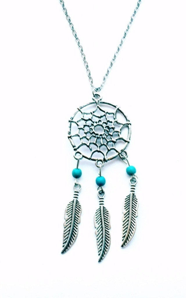 Dreamcatcher necklace by MoonChild