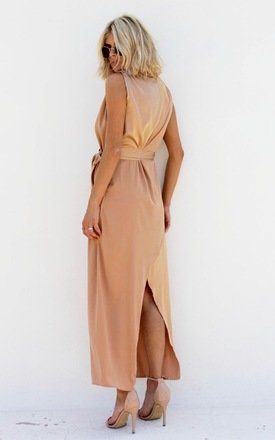 Varley Dress Gold by Never Fully Dressed