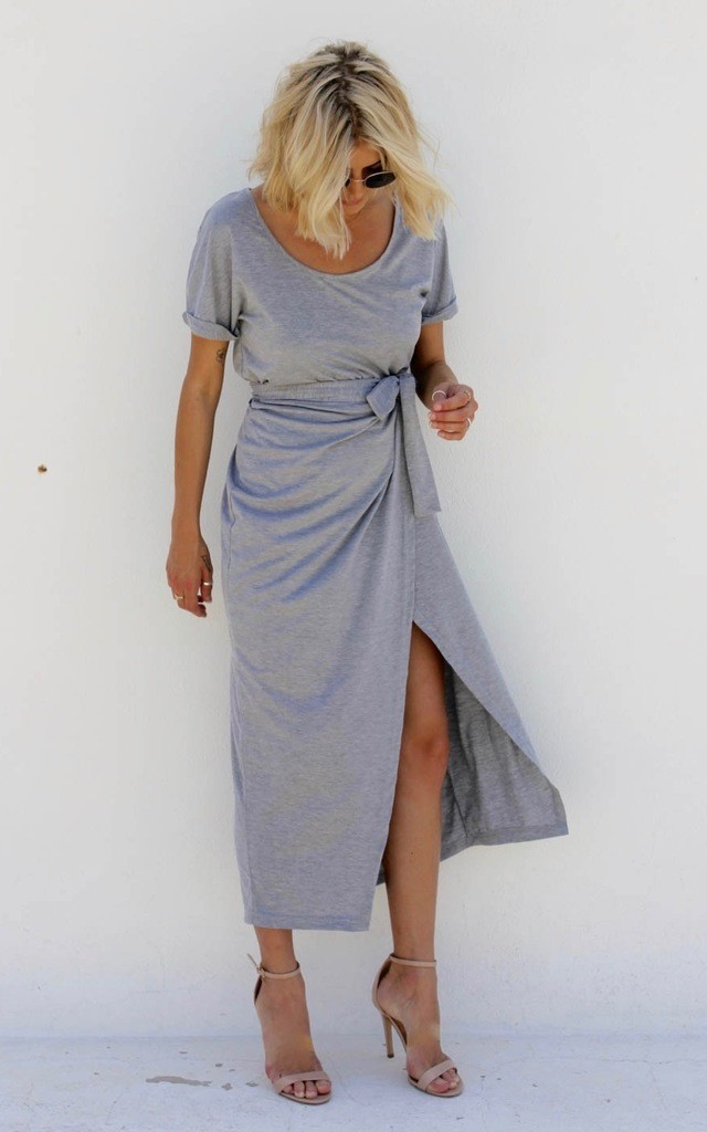 Marl Wrap by Never Fully Dressed