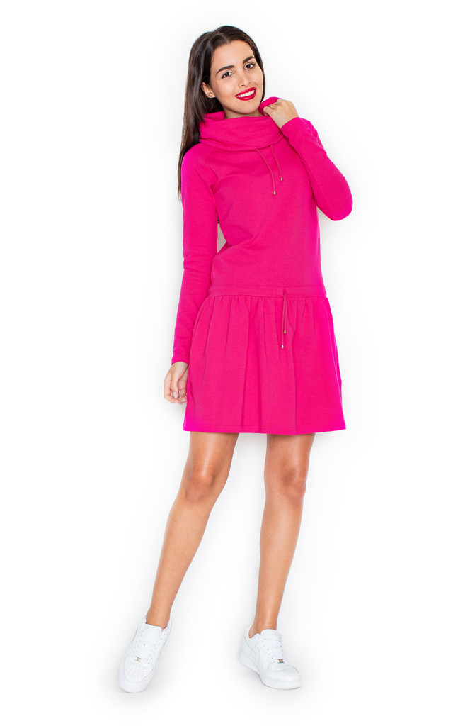 Fuchsia Sporty Dress by KATRUS