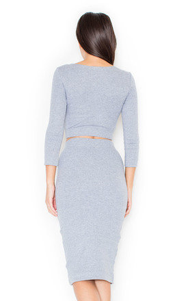 Grey two-piece by KATRUS