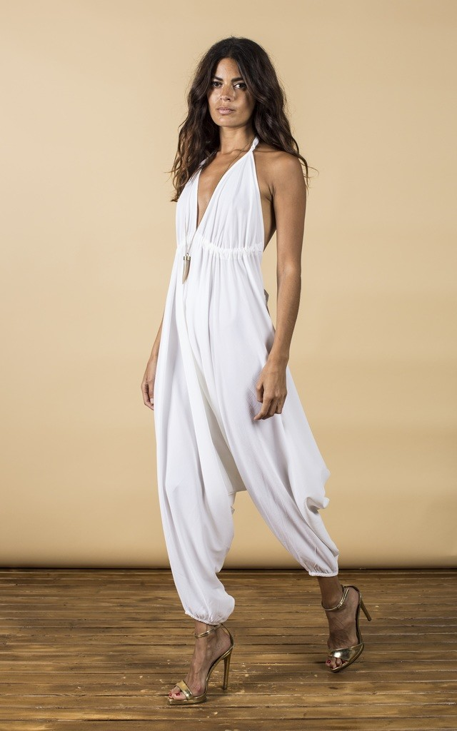 Genie Jumpsuit in White image