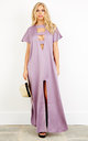 Purple Ibiza Kaftan by ILL DISCIPLINED