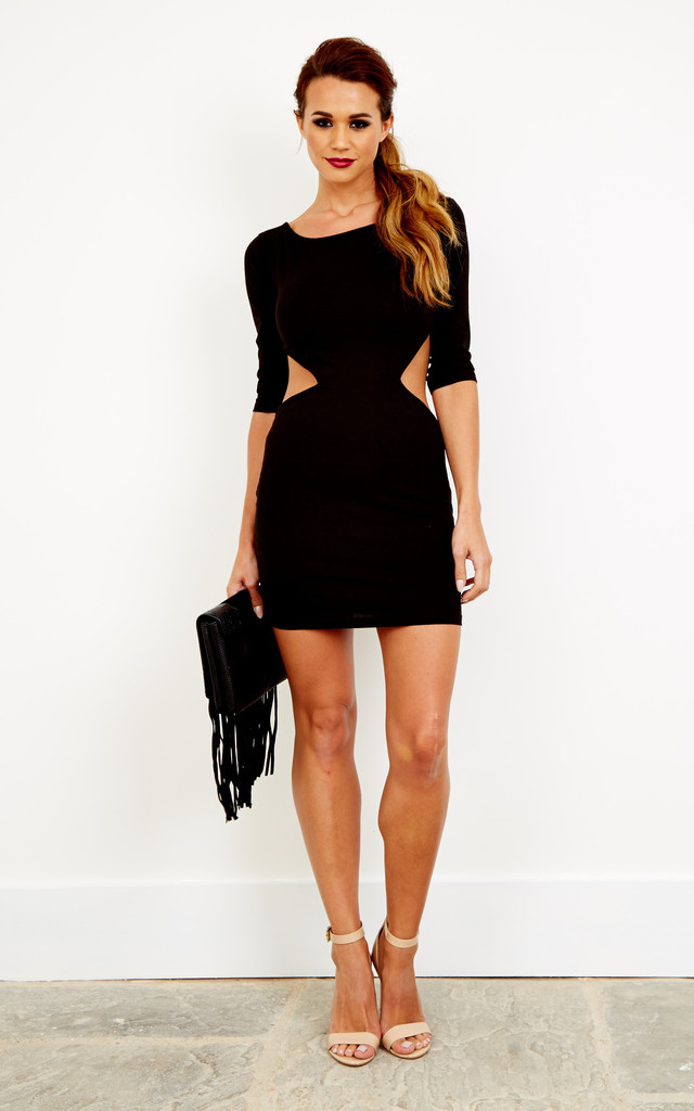 Cut out bodycon dress by Xirl