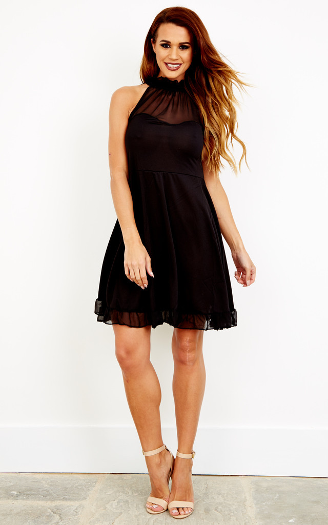 Black Sweetheart Dress by Top Threads