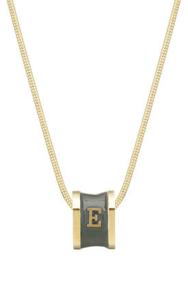 Letter E Necklace by Florence London