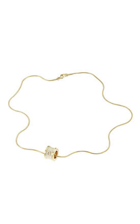 Letter C necklace by Florence London