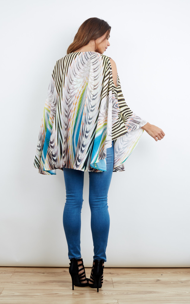 ON THE LEVEL CAPE TOP by Jovonna London