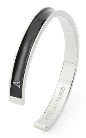 Letter A Cuff by Whistle & Bango