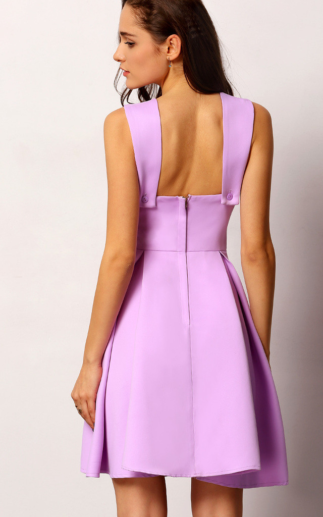 Detailed Bodice Prom Dress by Oeuvre
